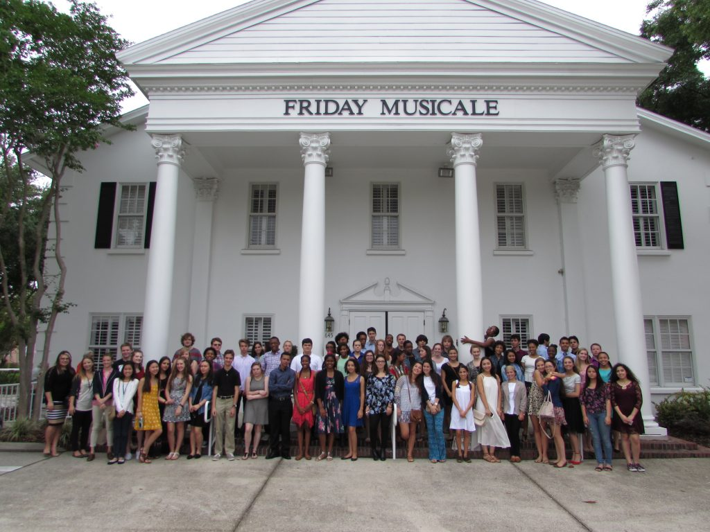 DASOTA students attend Friday Musicale concert
