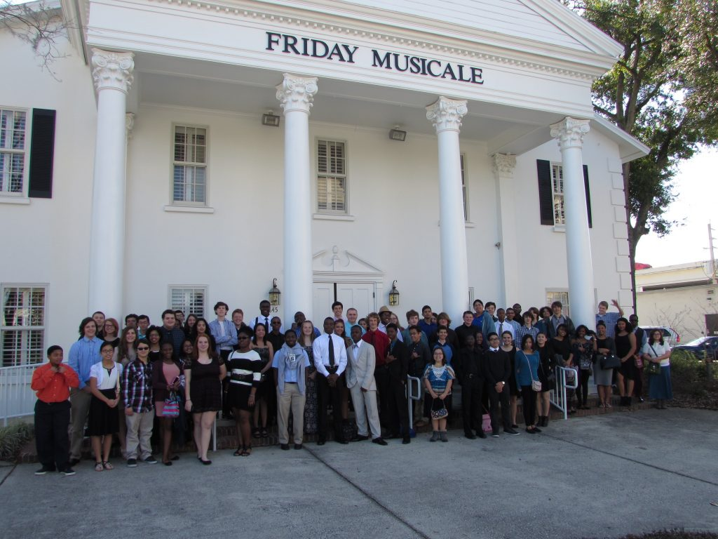 Sandalwood High School students attend Friday Musicale concert