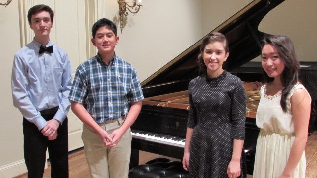Outstanding Young Pianists