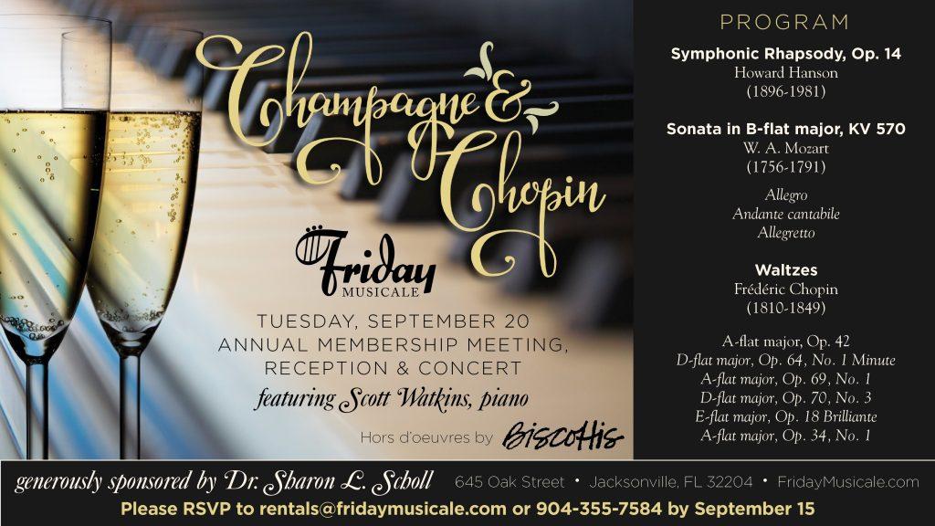 Champagne & Chopin