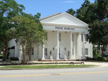 Friday Musicale Concert and Wedding Venue