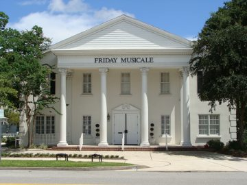 Friday Musicale Auditorium, concert hall and wedding venue