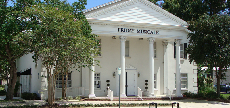 Friday Musicale free concerts jacksonville florida