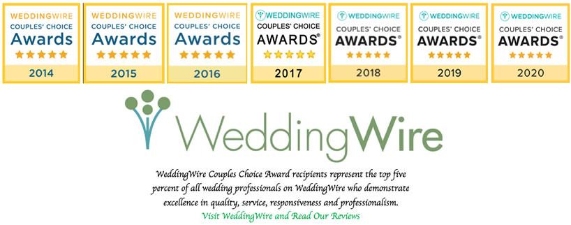 Wedding Wire Award Winner - 2020